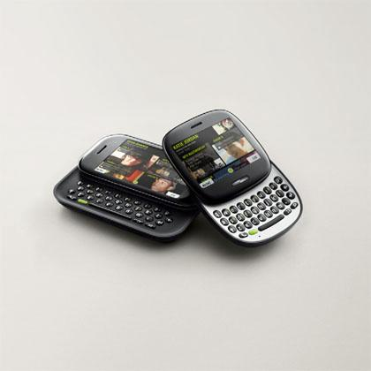 Microsoft's new Kin mobile phones are aimed at social network users. KinTwo, left, and KinOne, right.