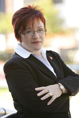 Women in Technology (WiT) president Teresa Murphy