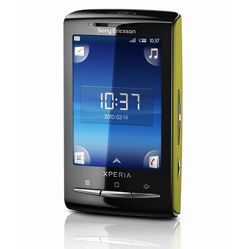 Sony Ericsson and Optus will launch the Xperia X10 mini Android phone with free streaming of 2010 World Cup soccer games