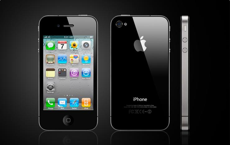 The iPhone 4 is the latest generation of Apple's flagship mobile device and features video calling and a higher display resolution