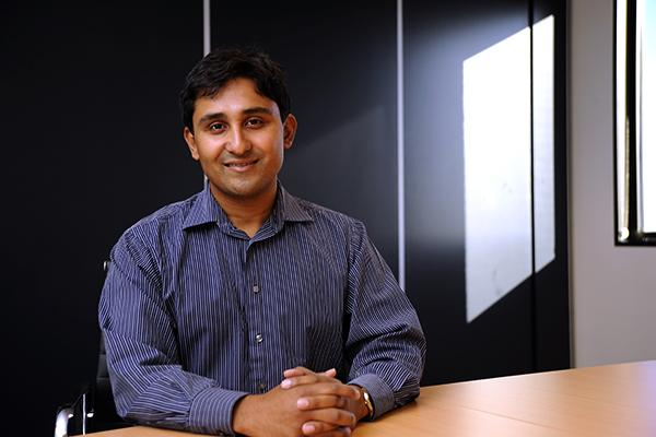 Microsoft's global director of Sharepoint, Arpan Shah