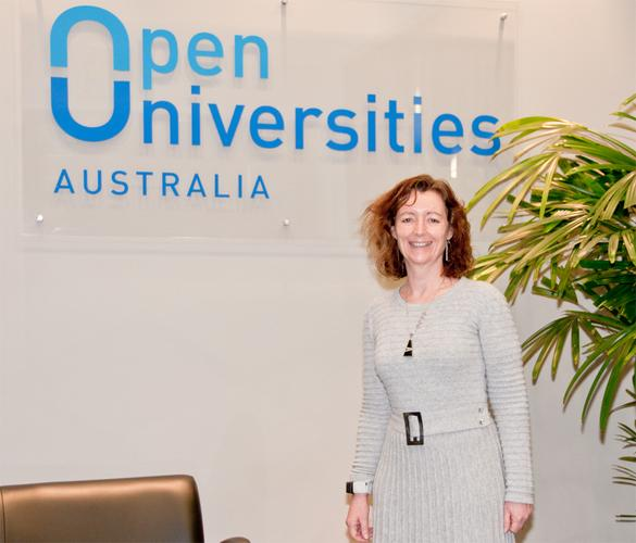 General manager operations for Open Universities Australia, Michelle Beveridge.