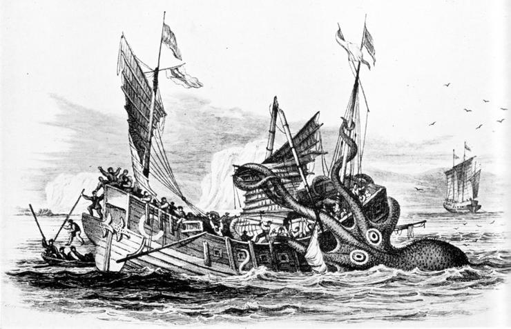 Pierre Denys de Montfort's The Legend of The Kraken