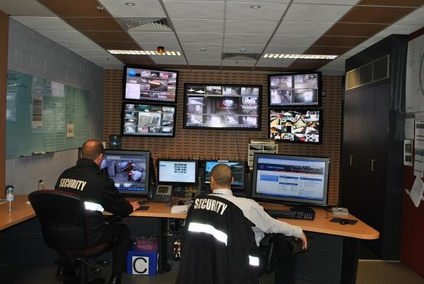 The MCG control room