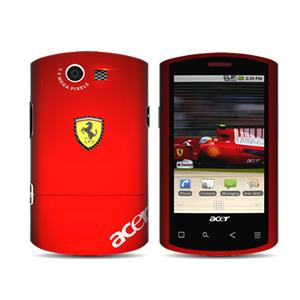Acer's Liquid E Ferrari Special Edition runs Android 2.1