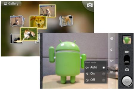 Android 2.2 'Froyo' gallery and camera apps