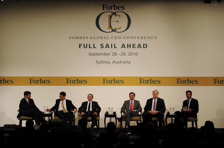 Industry leaders discuss the vendor buyout trend at the Forbes CEO conference in Sydney