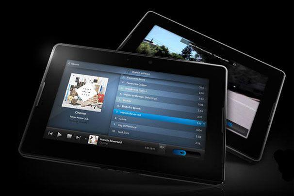 RIM's BlackBerry PlayBook tablet