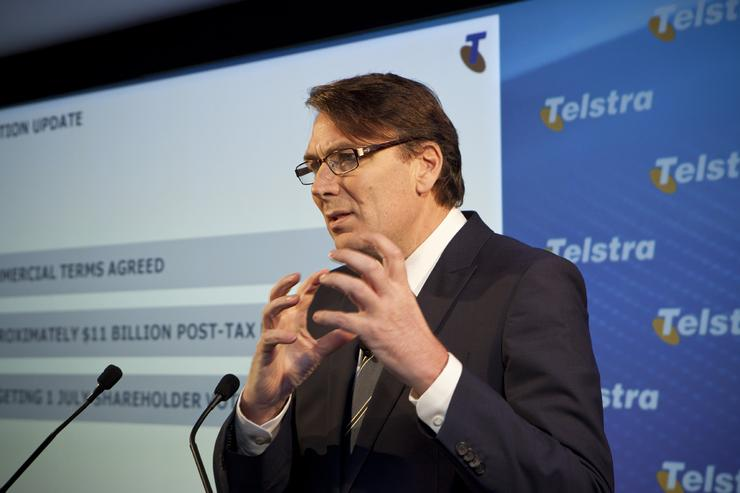 Telstra chief executive, David Thodey's announcement is the second time in two years the telco has used Mobile World Congress to flag significant changes to its network.