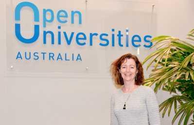Open Universities Australia executive director of operations, Michelle Beveridge