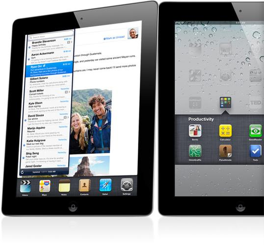 The much anticipated iPad 2 comes in black and white