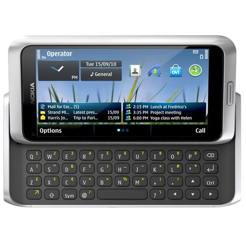 Nokia's E7 is the second smartphone after the N8 to ship Symbian^3