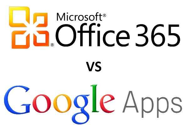 Microsoft Office 365 versus Google Apps
