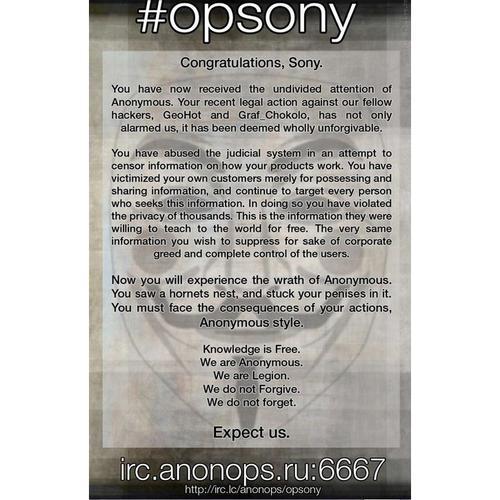 Source: http://anonops.blogspot.com/2011/04/opsony.html