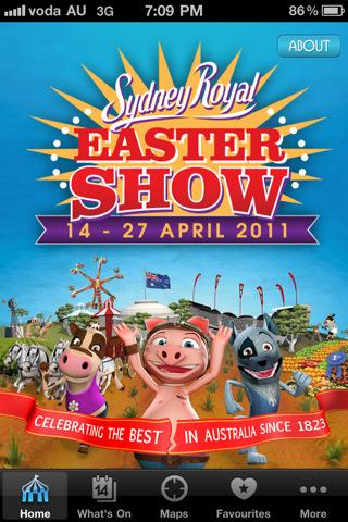 The Sydney Royal Easter Show iPhone app