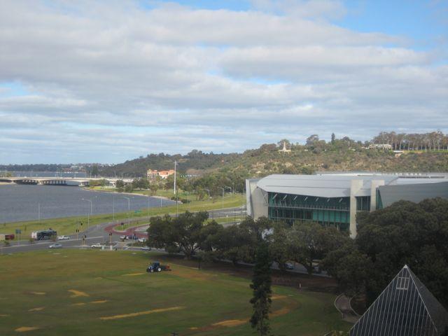 Perth convention centre, WA <br><small>Photo: Georgina Swan</small>