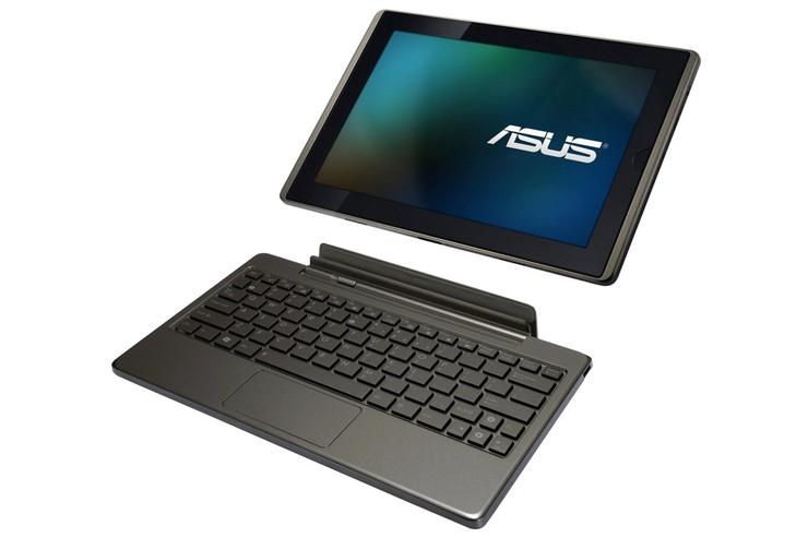 Asus' Eee Pad Transformer tablet with its keyboard dock.