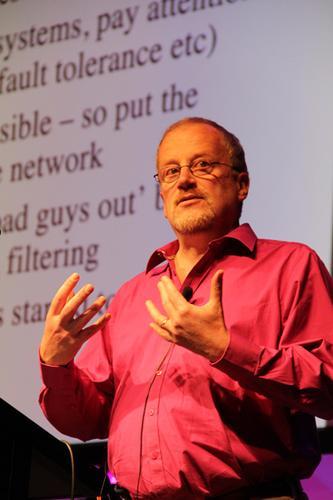 Cambridge University professor, Ross Anderson.