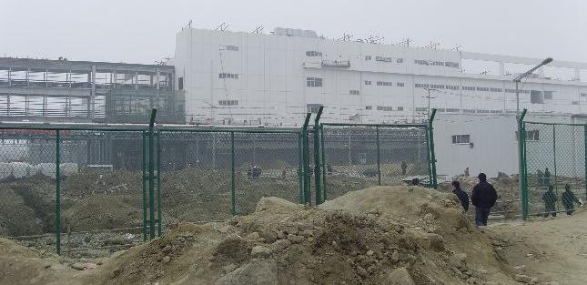 The southern campus at Foxconn's Chengdu factory, provided by Hong Kong-based group, SACOM