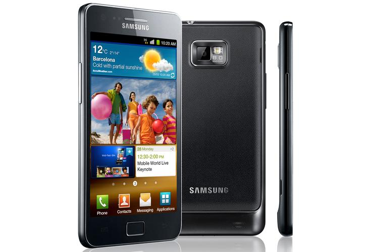 One of Samsung's most popular smartphones, the Galaxy S II