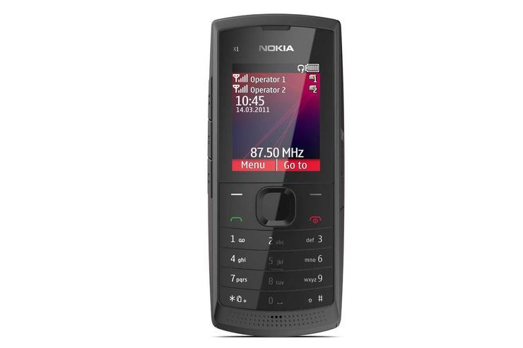 Nokia X1-01 dual-SIM phone