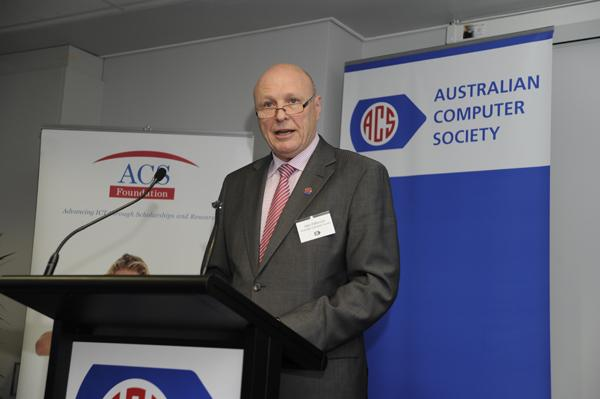 Australian Computer Society chief executive, Alan Patterson.