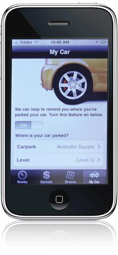 Internal deployment experience has allowed the Wilson Group to reach out to customers with apps such as ParkMate.