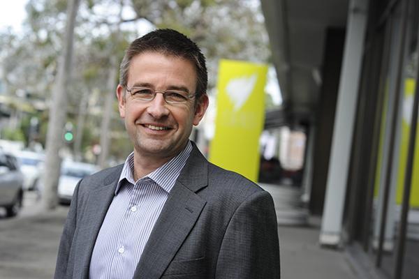 SBS head of IT, Klaus Schelp