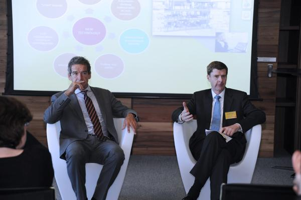 Commonwealth Bank CIO, Michael Harte, and CFO, David Craig.