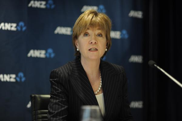 ANZ Banking Group chief information officer, Anne Weatherston.