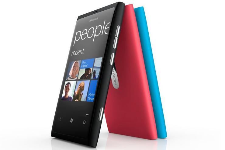 The Nokia Lumia 800 is Nokia's first Windows Phone