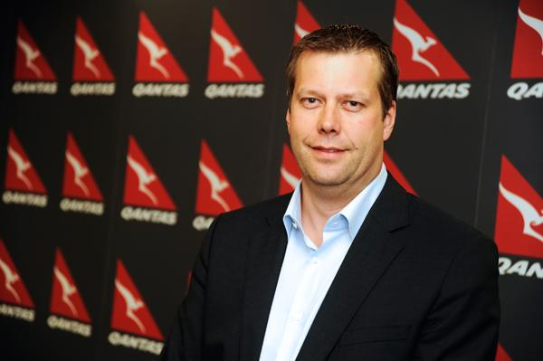 Qantas chief information officer, Paul Jones.