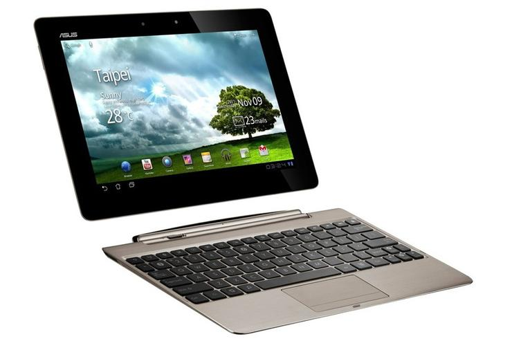 The ASUS Eee Pad Transformer Prime Android tablet
