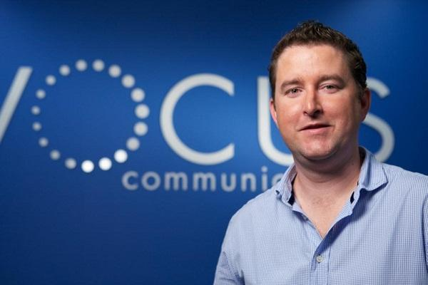 Vocus chief executive, James Spenceley.