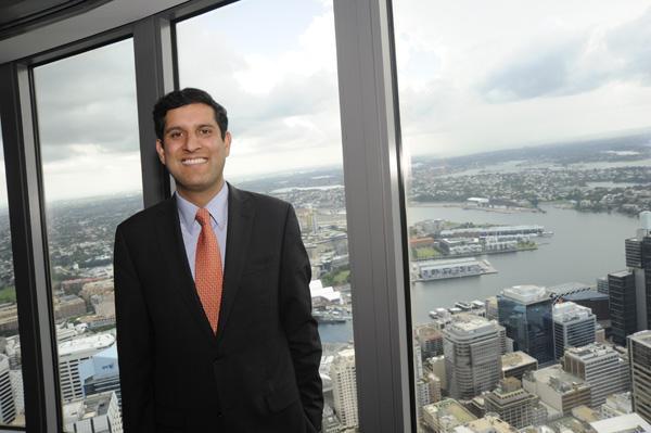 Salesforce.com executive vice-president of emerging markets,Vivek Kundra.