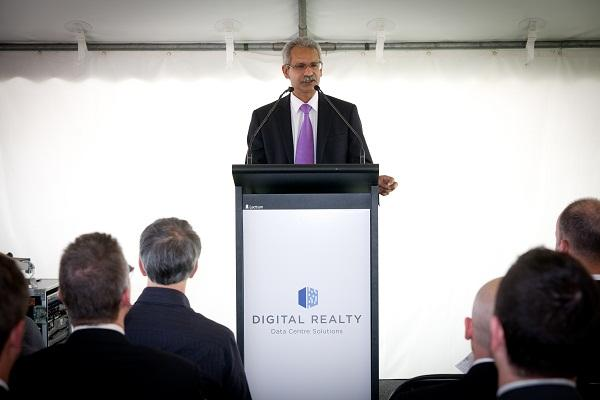 Digital Realty Trust Asia Pacific head, Kris Kumar.