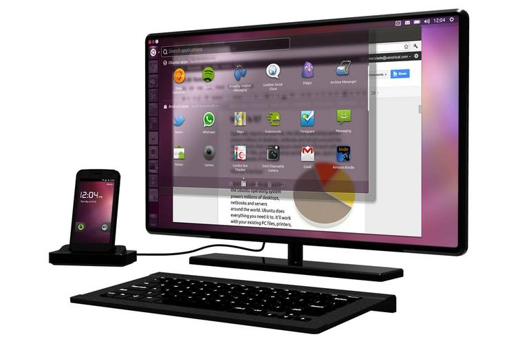 Canonical has created an Android add-on that can run a full Ubuntu desktop
