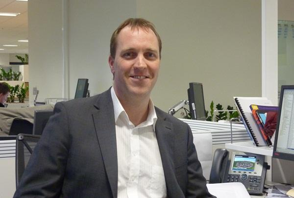 ME Bank information security manager, Lachlan McGill.