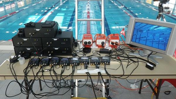 Initial swimming footage and high definition laser scans that will be used to reconstruct each swimmers 3D visual hull was collected in May at the Australian Institute of Sport in Canberra.  The analysis involved a 3D body scan of the swimmers before using 17 cameras, both above and below water, to capture swimmers' movements.