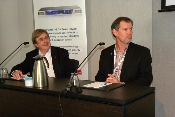 University of London Professor Paul Dorey and Black Swan Consulting director, Keith Price.