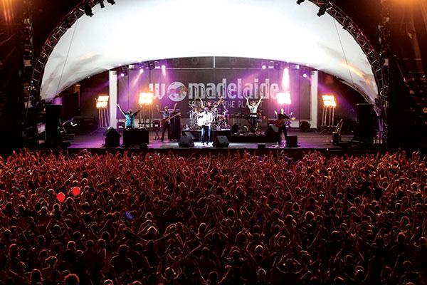 The WOMADelaide world music festival
