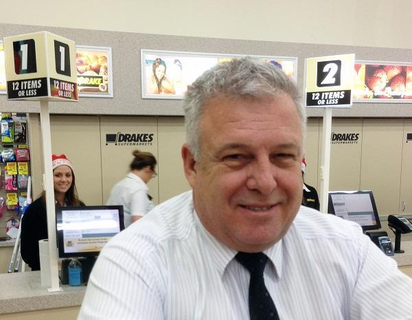 Drakes Supermarkets CIO, Rod Koza.