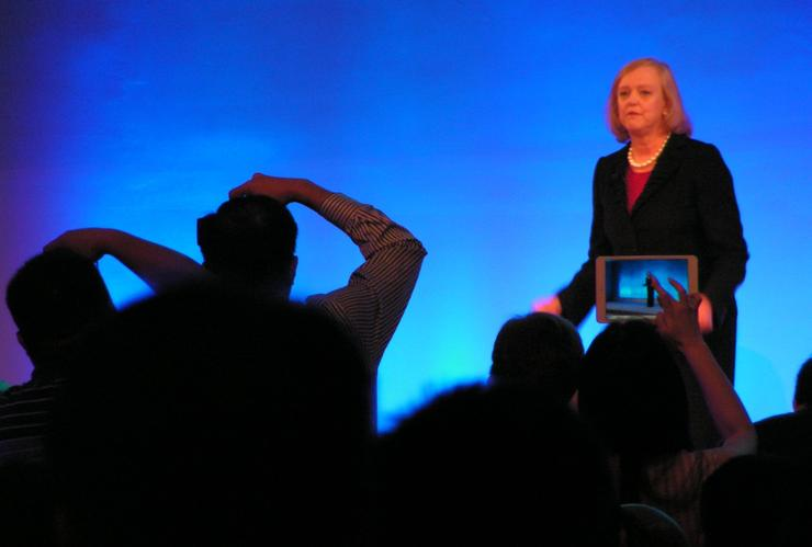 HP CEO Meg Whitman makes her case to Chinese customers.