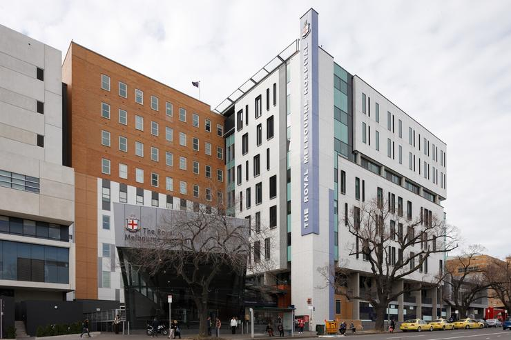 The Royal Melbourne Hospital is the flagship hospital of Melbourne Health. Credit: Melbourne Health