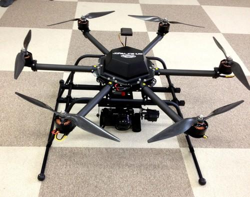 The Mini Surveyor, developed by a Chiba University spinoff, is the first mass-produced hexacopter drone in Japan. It will be used to help map radiation at the crippled Fukushima Dai-Ichi nuclear power plant.