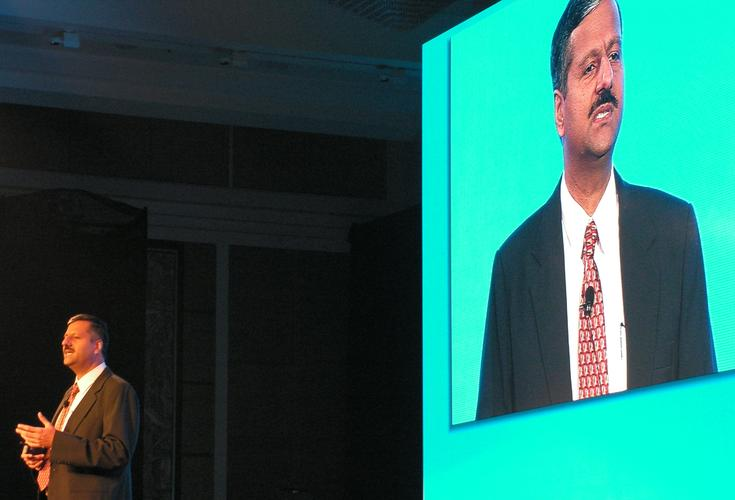 Mohan Krishnan, HP general manager of technology consulting for Asia-Pacific and Japan