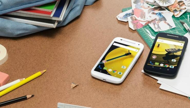 The new Motorola Moto E