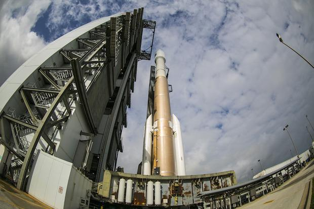 United Launch Alliance expects to 3D print flight-ready rocket components for its current Atlas V rocket and more than 100 parts for its next-gen rockets, the Vulcan. Credit: ULA