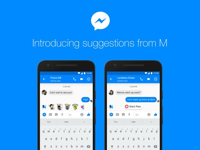 Facebook's M Assistant Will Start Suggesting Stuff in Messenger Today