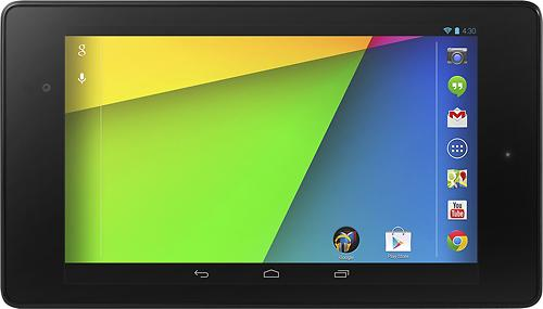 The new Google Nexus 7 Android tablet.